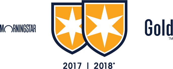 Bright Start received MorningStar's Gold Medal Rating 2017 and 2018